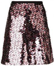 McQ Alexander McQueen - short sequined skirt - women - Polyamide/Polyester - 36, 38, 40, 42 - Metallizzato