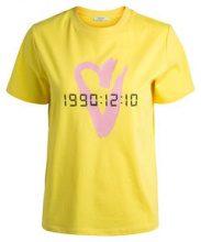 PIECES Lizzy T-shirt Women Yellow