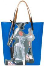 Marni - Borsa shopper - women - Cotton/Polyester - OS - BLUE