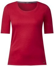 Cecil 311780 Lena, T-Shirt Donna, Rosso (Deep Loganberry 11343), XS