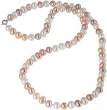 Bella Donna Collier da donna in argento 925 con perle d'acqua dolce 45 cm - 119058