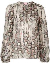 Giamba - Blusa a fantasia - women - Polyester - 42 - Multicolore