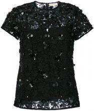 Michael Michael Kors - Blusa di pizzo - women - Polyester - S - Nero