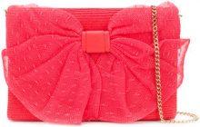 Red Valentino - Borsa a spalla - women - Straw - OS - Rosa & viola