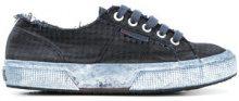 Massimo Alba - Sneakers 'Superga X Massimo Alba' - women - Cotone/rubber - 36, 37, 39, 40 - BLUE