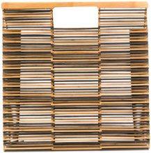 Cult Gaia - Gaia's foldable tote bag - women - Bamboo - One Size - Marrone