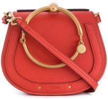 Chloé - Borsa Nile - women - Calf Leather/Calf Suede - One Size - Giallo & arancio