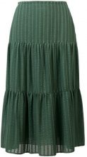 See By Chloé - Pleated skirt - women - Cotone/Polyester/Viscose - 36, 38, 40 - GREEN