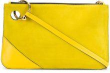 JW Anderson - Borsa 'Pierce' - women - Calf Leather/Calf Suede - OS - Giallo & arancio