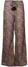 Figue - Estela palazzo pants - women - Cotone/Viscose - XS, S, L - PINK & PURPLE