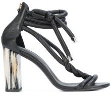 Oscar de la Renta - Declan sandals - women - Goat Skin/Leather - 35.5, 36, 36.5, 37, 37.5, 38, 38.5, 39, 39.5, 41 - Nero
