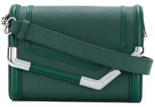 - Karl Lagerfeld - Rocky Saffiano small shoulder bag - women - pelle - Taglia Unica - di colore verde
