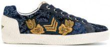 Ash - Sneakers con lacci - women - Canvas/Leather/rubber - 36, 37, 40 - Blu