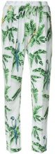 Stella McCartney - tropical print trousers - women - Silk - 40, 42, 44 - BLUE