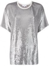 Iro - T-shirt decorata - women - Spandex/Elastane/Rayon - 34 - METALLIC