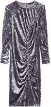 FIND 13760 vestiti da sera donna eleganti, Grigio (Grey), 46 (Taglia Produttore: Large)