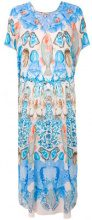 Temperley London - Quartz long kaftan - women - Viscose - L - BLUE