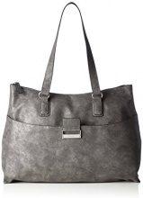 GERRY WEBER 4080003714, Borsa Shopper Donna, Grigio (Grigio (Dark Grey)), 41x31x12 cm (B x H x T)