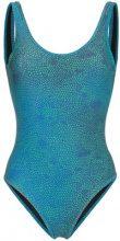 Double Rainbouu - Costume da bagno 'Lizard' - women - Nylon/Spandex/Elastane - XS, S, L - Blu