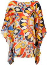 Tory Burch - Tunica stampata - women - Cotone/Silk - XS/S - MULTICOLOUR