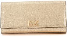 Clutch Michael Kors Mott in pelle oro