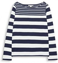 ESPRIT 107ee1j003, Felpa Donna, Multicolore (Navy 400), X-Small