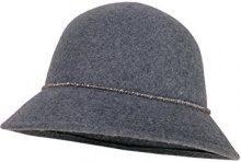 CaPO Florence Hat, Cappello Fedora Donna, Grigio (Grey 5), Small