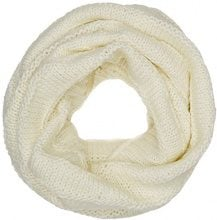 Tommy Hilfiger Chunky Knit Scarf, Sciarpa Donna, Avorio (Marshmallow 108), Taglia Unica