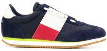 - Tommy Jeans - Sneakers stringate - men - Leather/Polyamide/Polyester/NylonRubber - 41, 44, 42, 43 - Blu