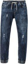 Jeans elasticizzato senza chiusura slim fit straight