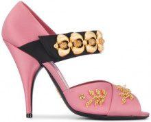 Prada - Pumps 'Mary-Jane 110' - women - Satin/Leather - 36, 37, 38, 39, 41 - PINK & PURPLE