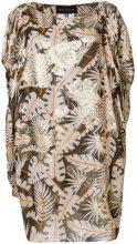Talbot Runhof - jungle print dress - women - Viscose/Metallized Polyester - 34, 36, 38, 40 - MULTICOLOUR
