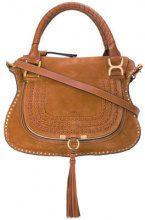 Chloé - Marcie medium tote bag - women - Suede - OS - Marrone