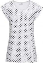 Maglia in jersey a pois (Bianco) - BODYFLIRT