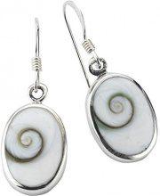 ZEEme 275230045R - Orecchini da donna, argento sterling 925, 32 mm