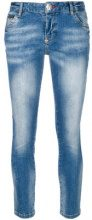 Philipp Plein - Jeans skinny - women - Cotone/Polyester/Spandex/Elastane - 26, 28 - BLUE