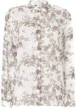 Giambattista Valli - floral print shirt - women - Silk - 42, 44, 48 - WHITE