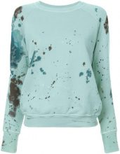 NSF - Saguro sweatshirt - women - Cotone - S, M - GREEN