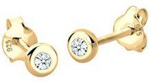 Diamore Orecchini a perno Donna argento - 312241417