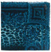 Versace - Sciarpa - women - Silk/Modal - One Size - BLUE