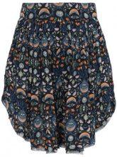 Chloé - Abstract Print Shorts - women - Viscose/Polyester - 36, 38, 34, 40, 42 - Blu