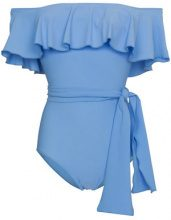 Lisa Marie Fernandez - Costume intero 'Mira' - women - Nylon/Spandex/Elastane - 1 - Blu