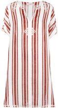 Tory Burch - Alcott beach caftan - women - Linen/Flax/Polyester - XS/S, M/L - NUDE & NEUTRALS