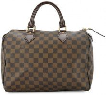 Louis Vuitton Vintage - Speedy 30 tote bag - women - Leather/Canvas - OS - Marrone