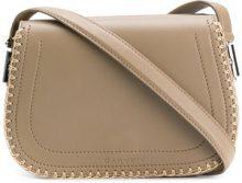 Carven - stitched shoulder bag - women - Leather - OS - BROWN