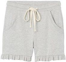 FIND Frill Hem Sweat Shorts Donna, Grigio (Grey Marl), 42 (Taglia Produttore: Small)