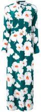 Equipment - floral print maxi dress - women - Silk - S - Verde