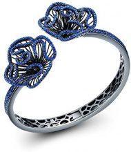 Fei Liu Fine Jewellery Bangle Donna argento - CAS-925B-401-BLCZ