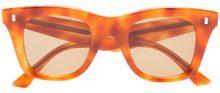 Céline Eyewear - Occhiali da sole cat-eye - women - Acrylic/Acetate - OS - Giallo & arancio