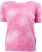 Avant Toi - T-shirt effetto schiarito - women - Cashmere - S, L - PINK & PURPLE